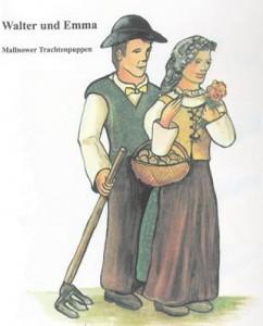 Die Mallnower Trachtenpuppen